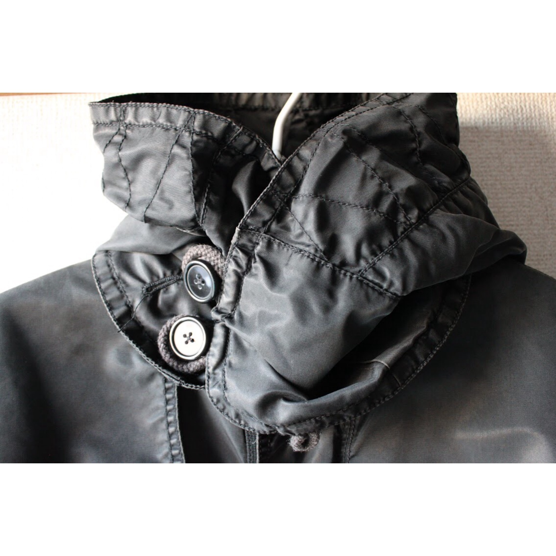 Vintage M-65 type hooded coat