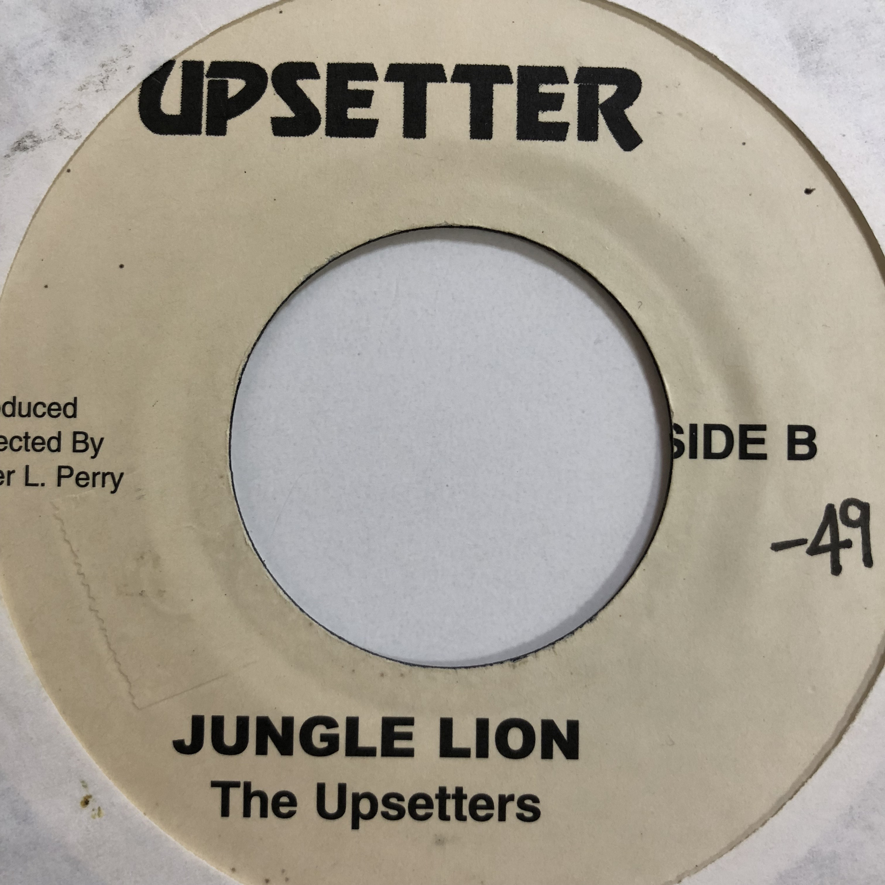 Lee Perry, Upsetters(リーペリー) - Jungle Lion【7'】