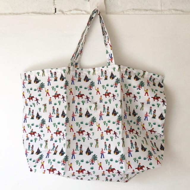 Nathalie Lete Pocketable Eco Bag Indianナタリーレテ エコバッグ インディアン