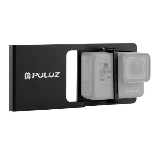 Puluz社   スマートフォンジンバル用GoPro装着アダプタープレート(GoProHERO6/5/4/3+/3対応)