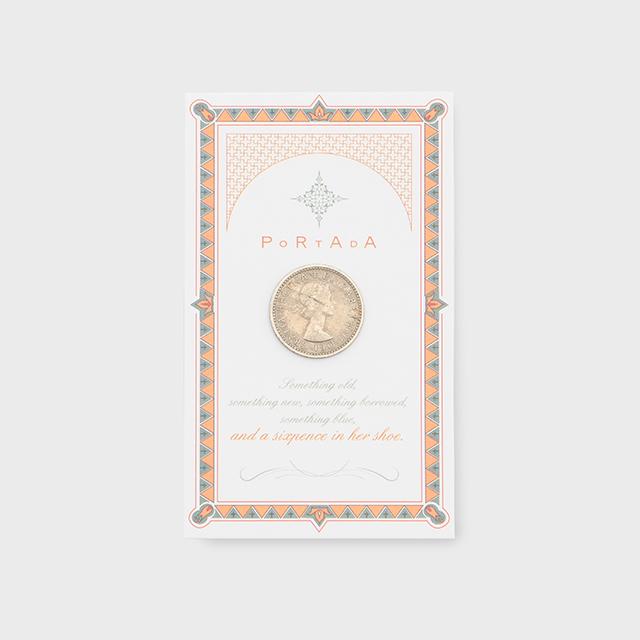 PORTADA  LUCKY SIXPENCE COIN (ポルターダ シックスペンスコイン)