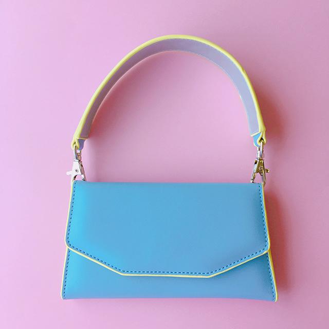 Liquem / モバイルminiバッグ(ブルー)