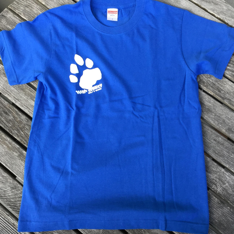 雪豹Tシャツ ロイヤルブルー