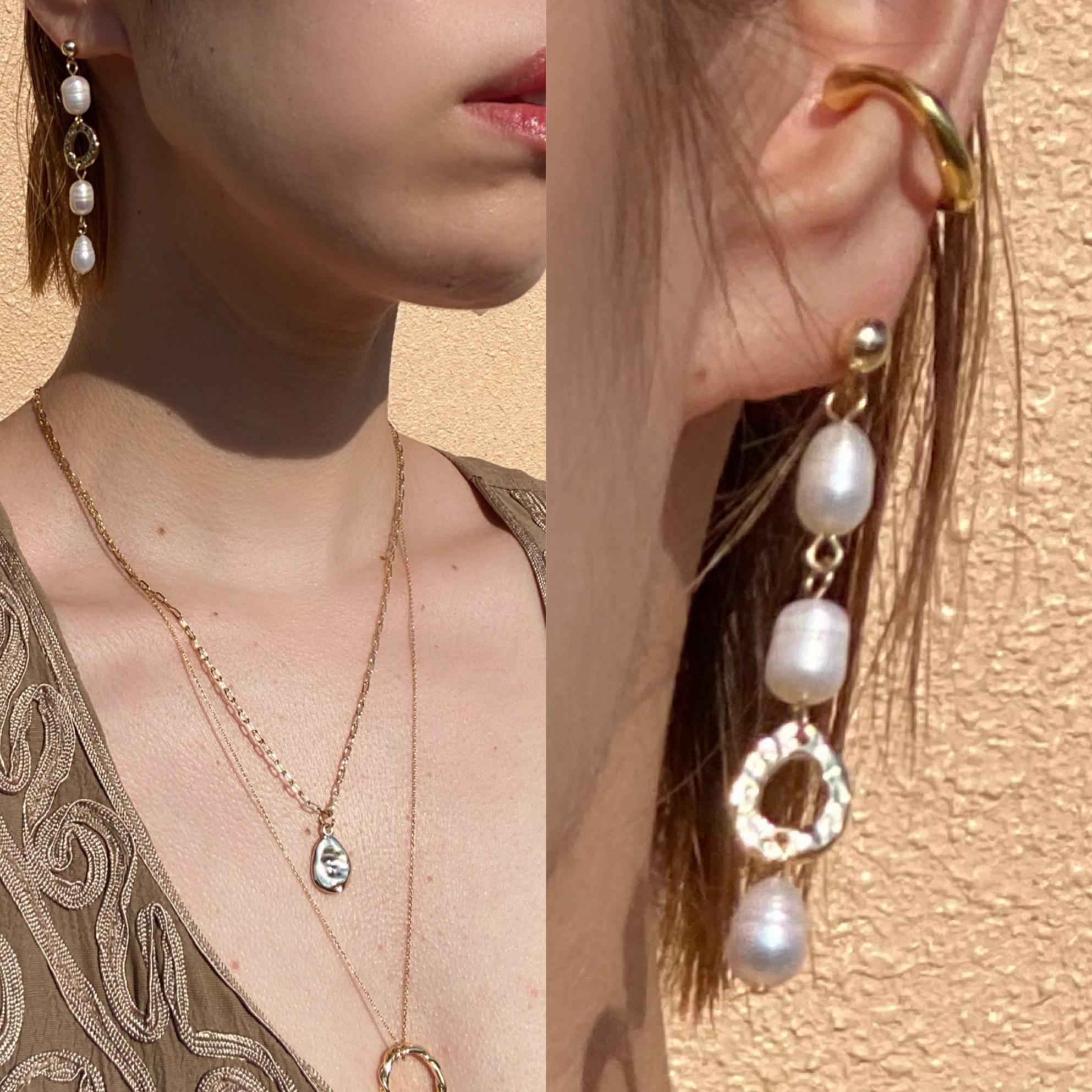 asymmetry earring (ピアスタイプ)
