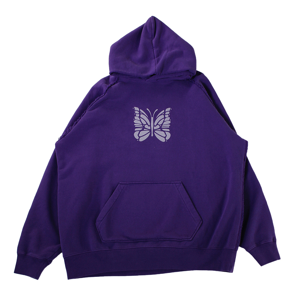 NEEDLES Butterfly Hoodie Purple