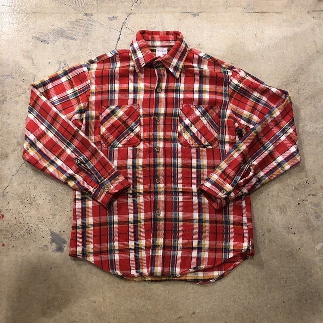 70's Big Mac Flannel Shirt #TP-486
