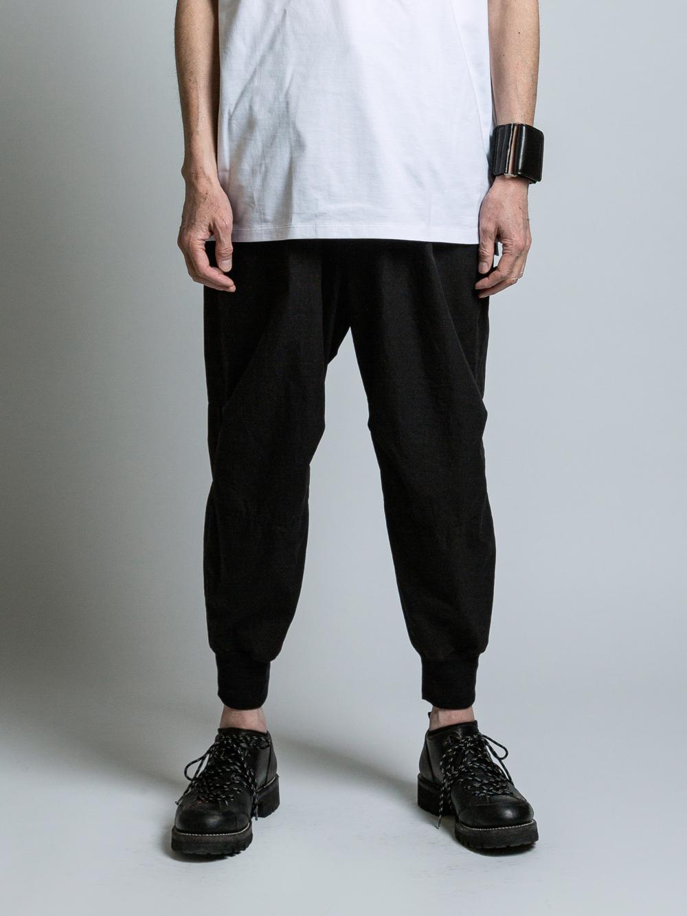 VI-SP-063-04 / コットン裾リブイージーパンツ