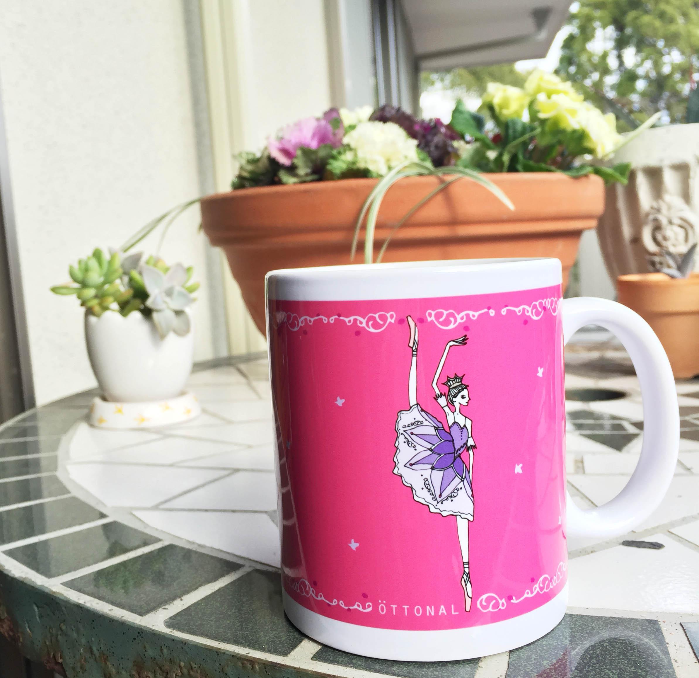 リラの精 マグカップ - 画像3