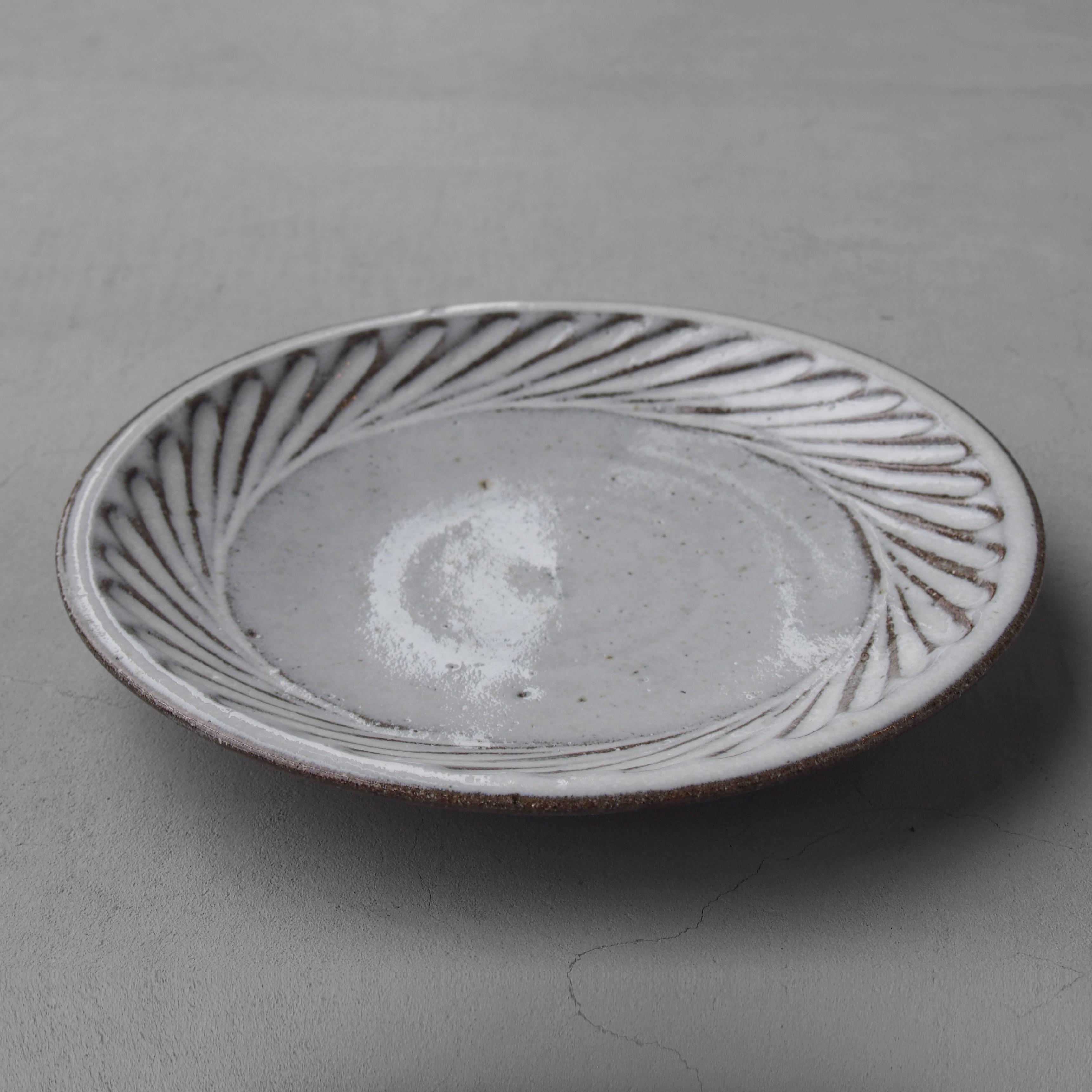 福田るい しのぎ7寸皿