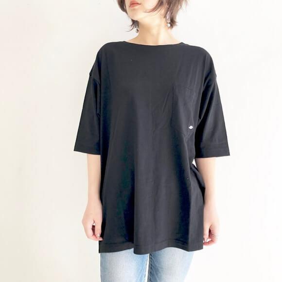 【 AGNOST 】リップ刺繍ビッグTEEシャツ