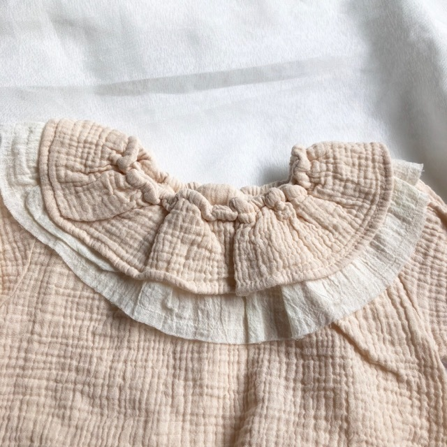 《 121 》Sweet frill rompers