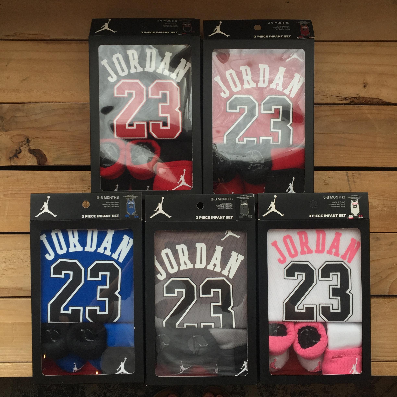 Nike Air Jordan 23 ベイビー3点 ギフトセット