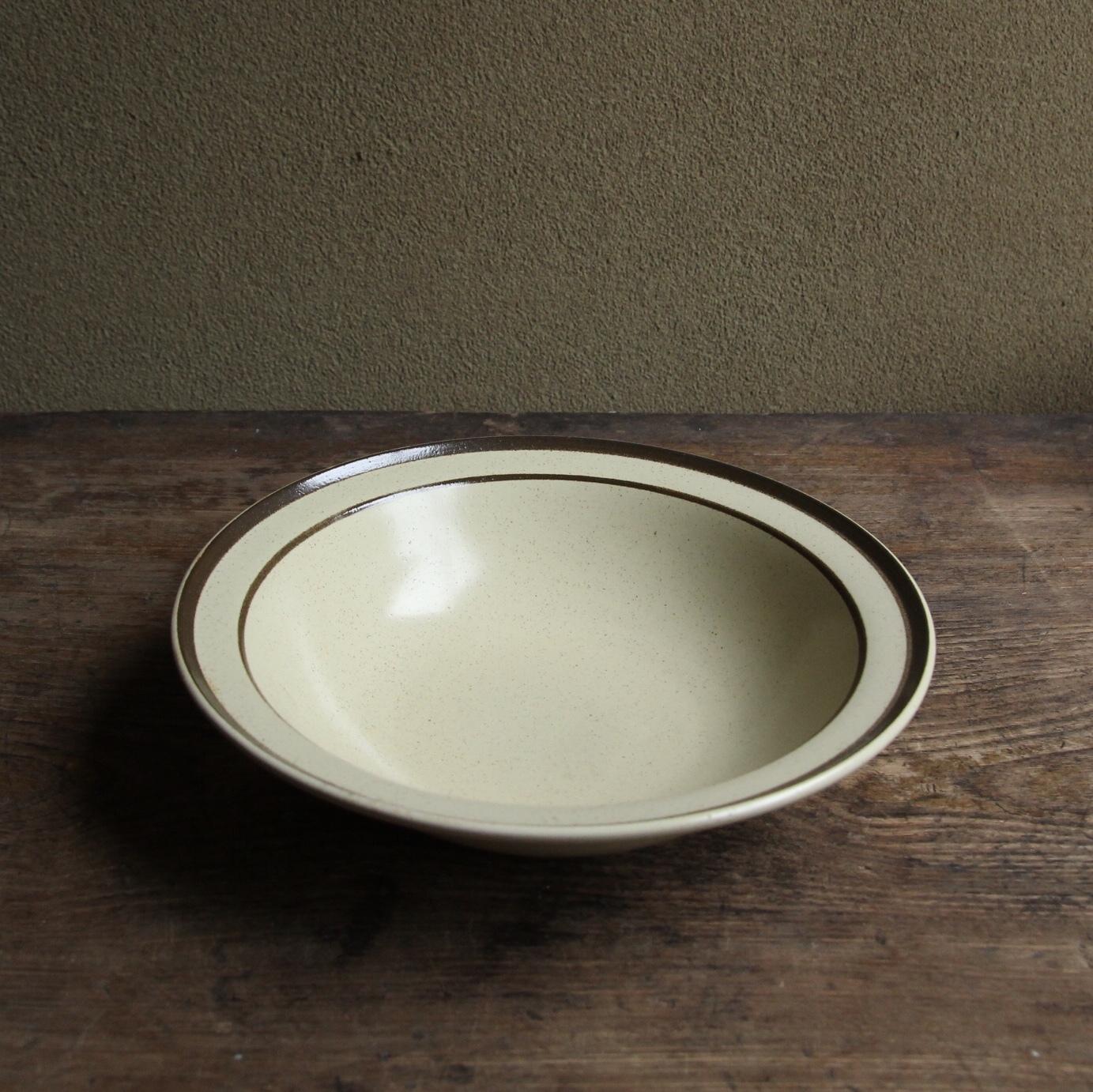 アポロ ストーンウェア スープ皿 在庫2枚