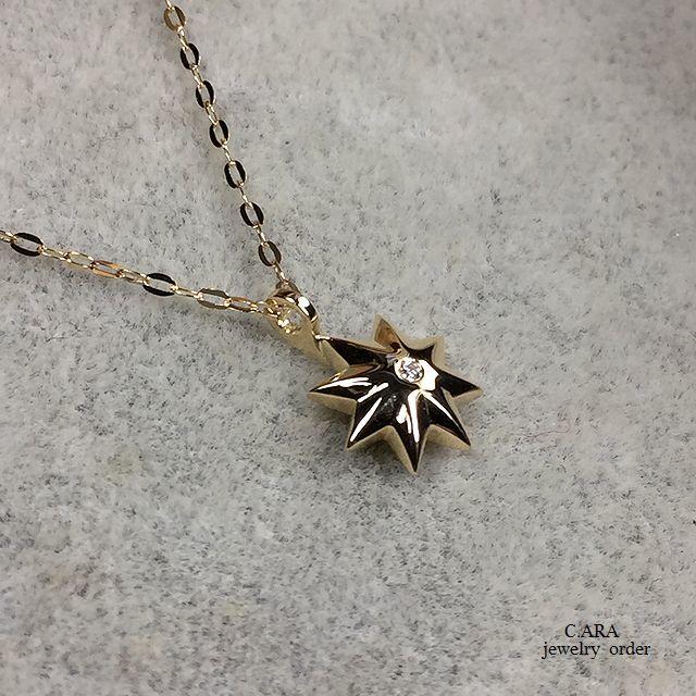 K18ダイヤモンドペンダントセット・固定バチカン(専用チェーン40~47cm)