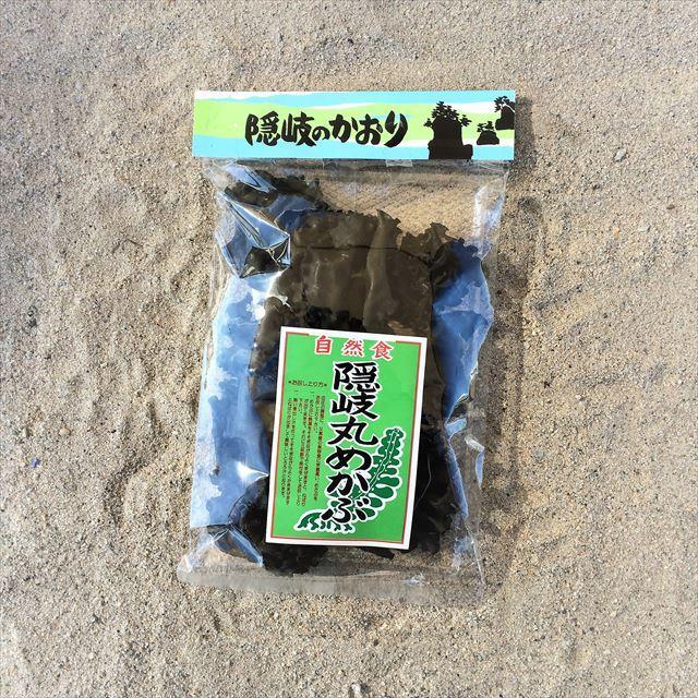 島根県・隠岐島の丸メカブ