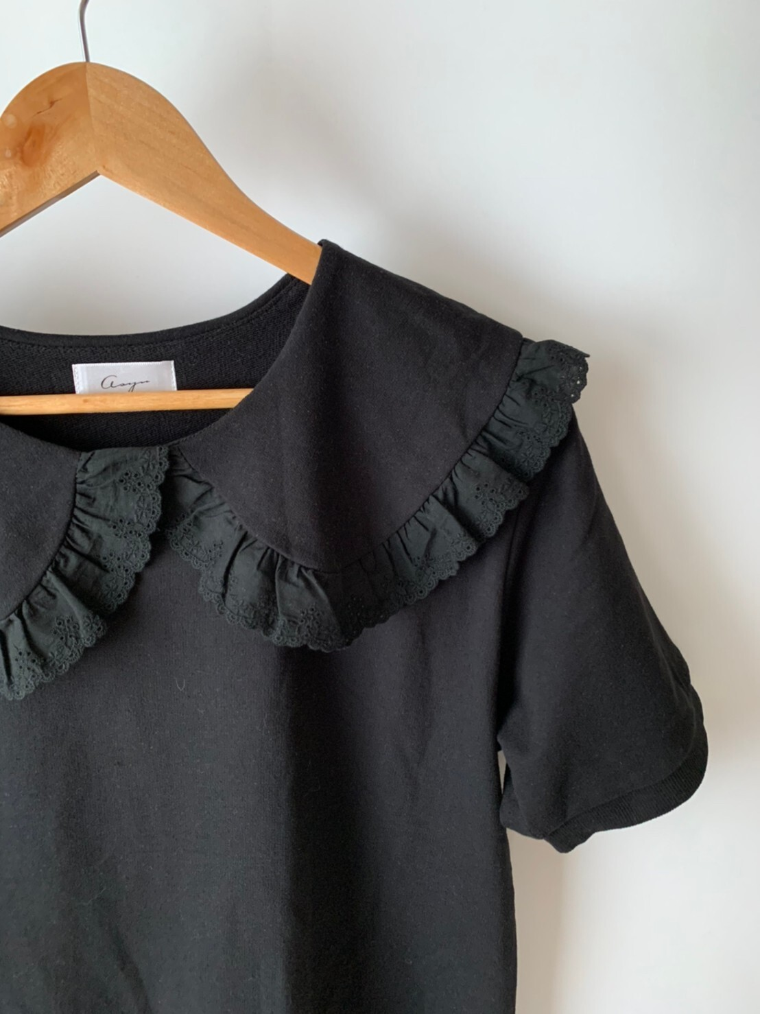 【asyu】charming collar sweat