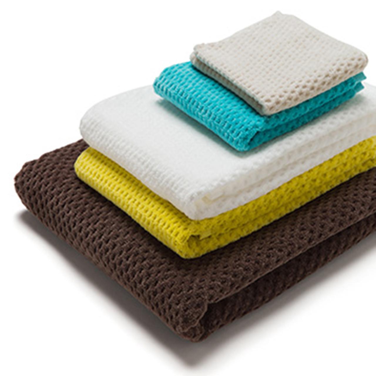 Fiber Art Studio  Half Cut Towel / Face Towel