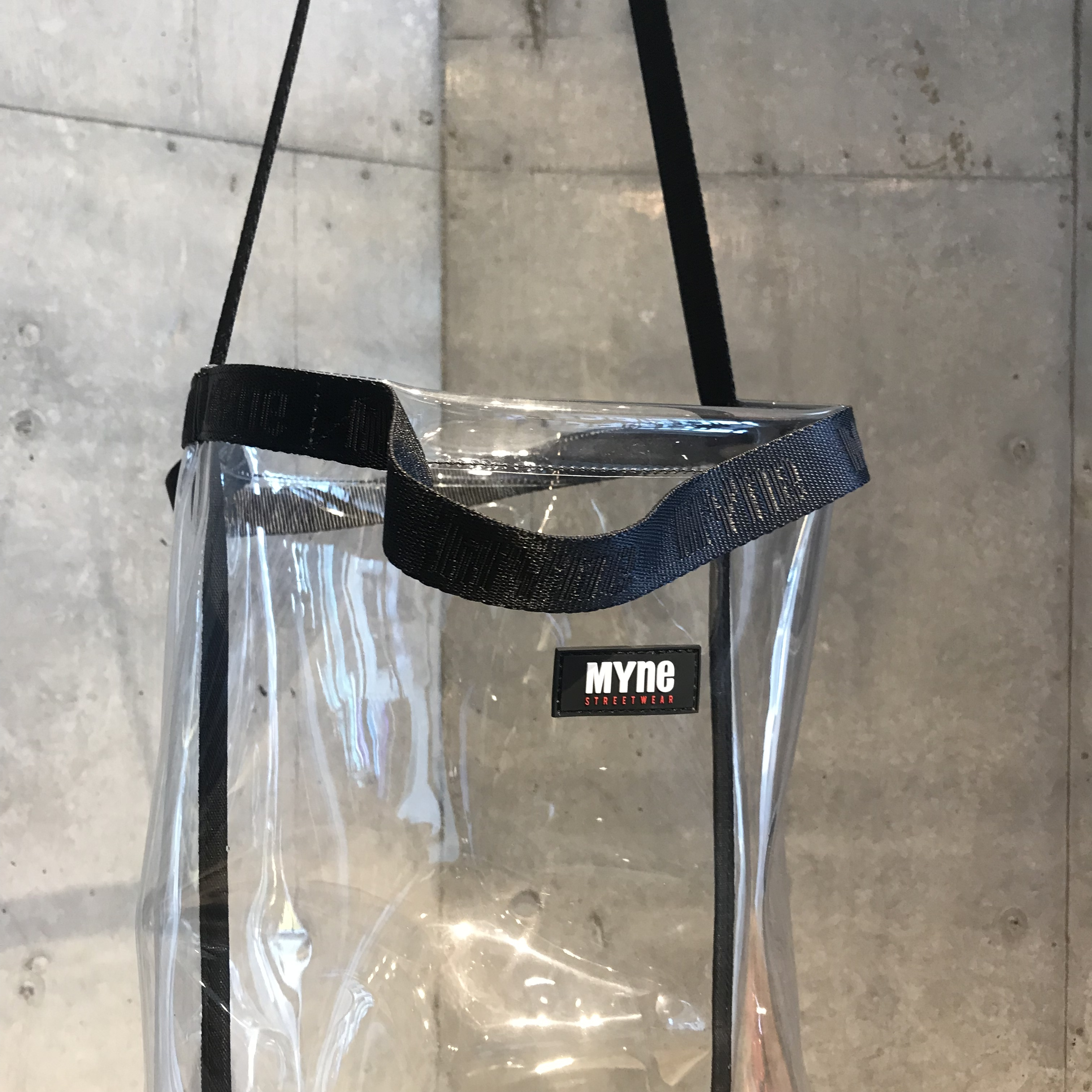 CLEAR TOTE BAG - 画像3