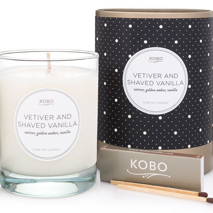 VETIVER AND SHAVED VANILLA - COTERIE COLLECTION