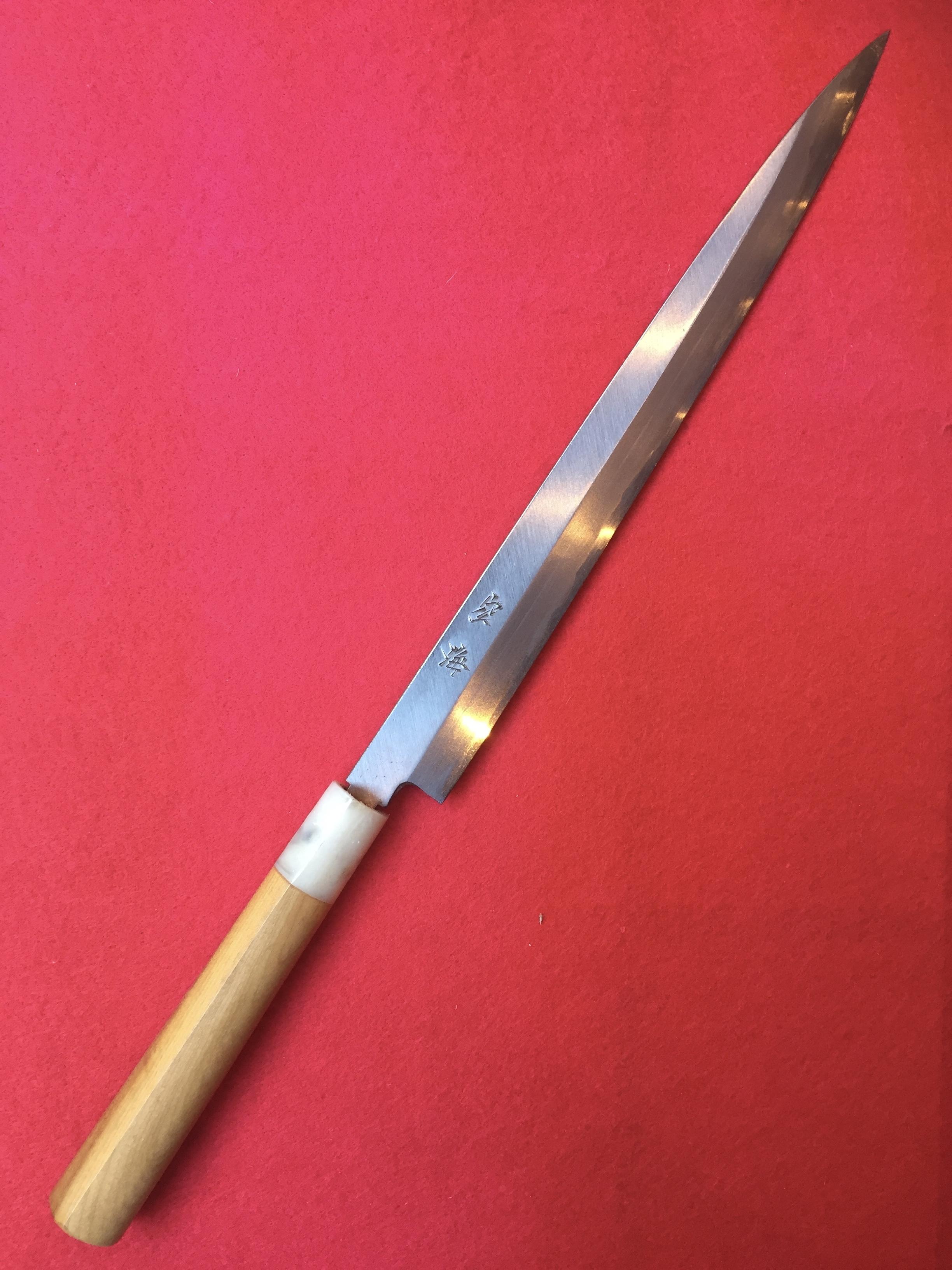 空海 柳刃包丁8寸五分(片刃)