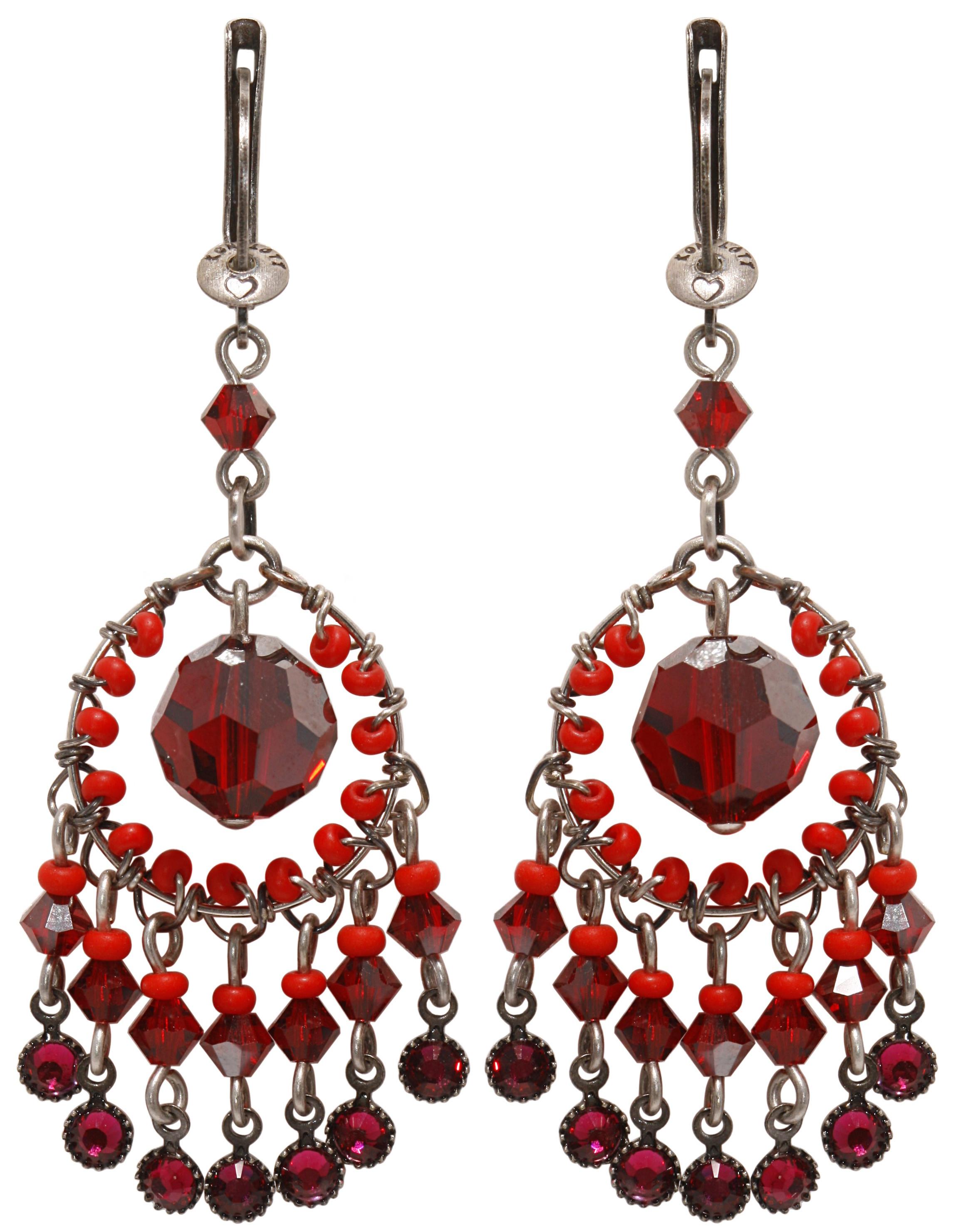 Creole Ethnic earring dangling ピアス151