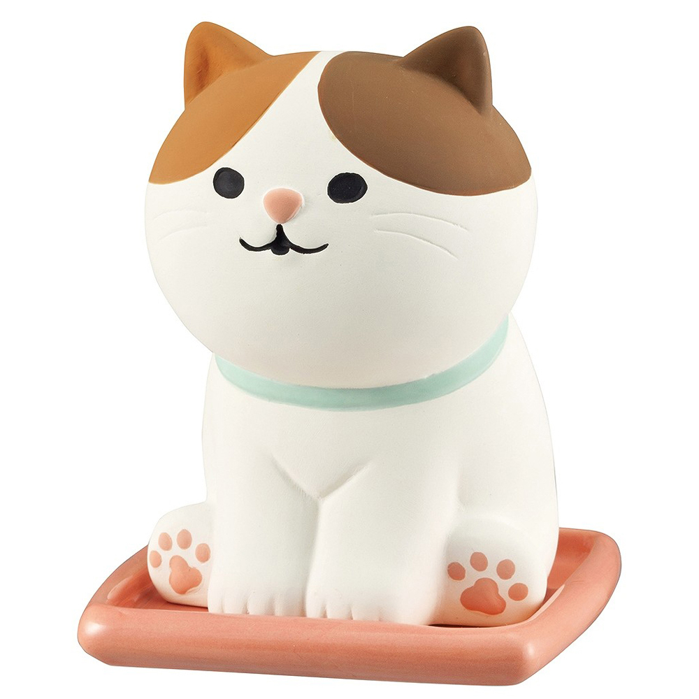 猫加湿器(おすわりアニマルみけ)