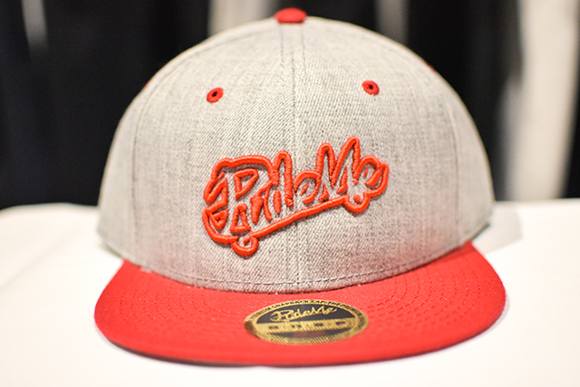 【RideMe | ライドミー】 Snap Back Cap RED