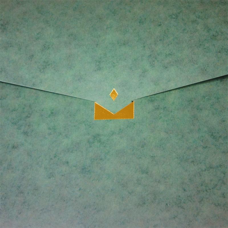 【緑×迷彩】A4クリアケースも入る紙製バッグ BOE01CB