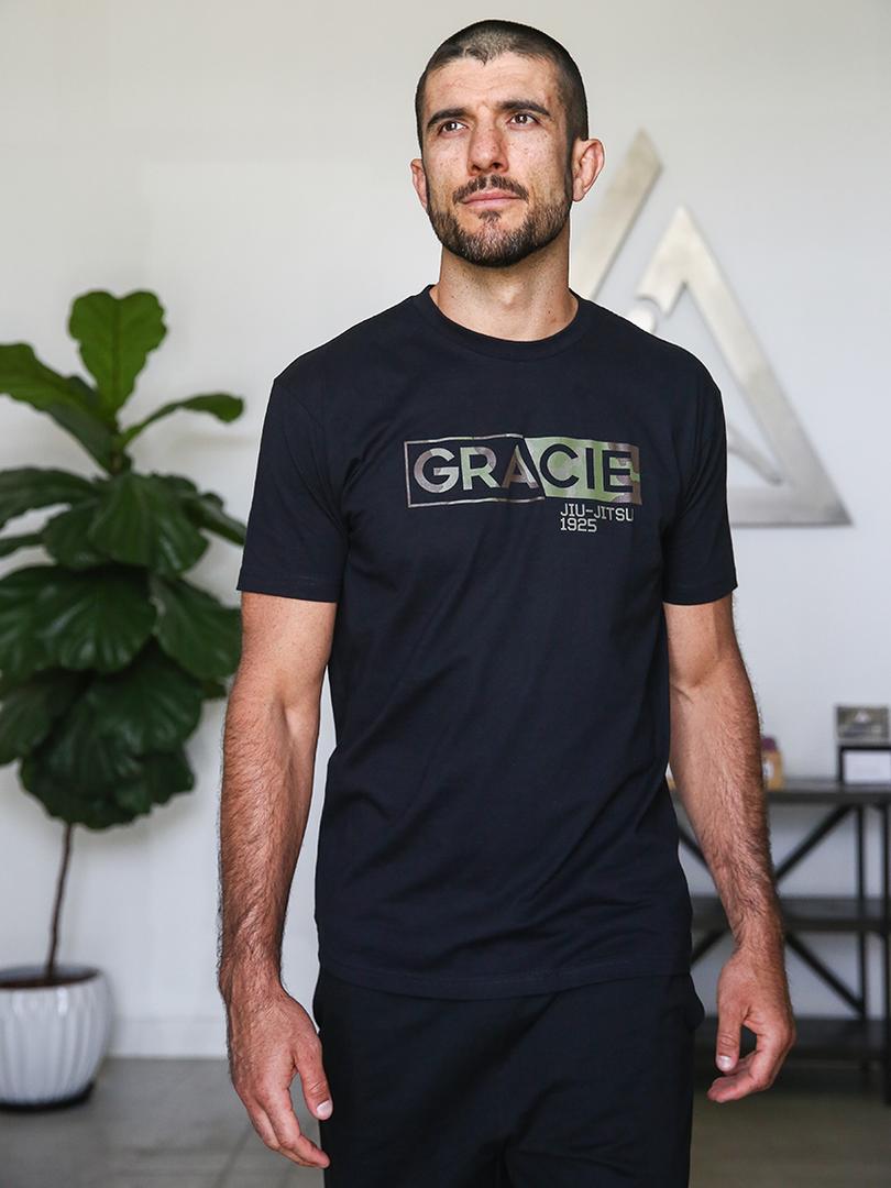 グレイシー柔術 Covert Camo Tシャツ