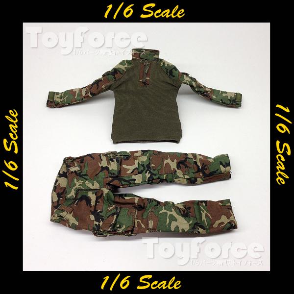 【02671】 1/6 Soldier Story Marine Raiders ウッドランドカモ 戦闘服