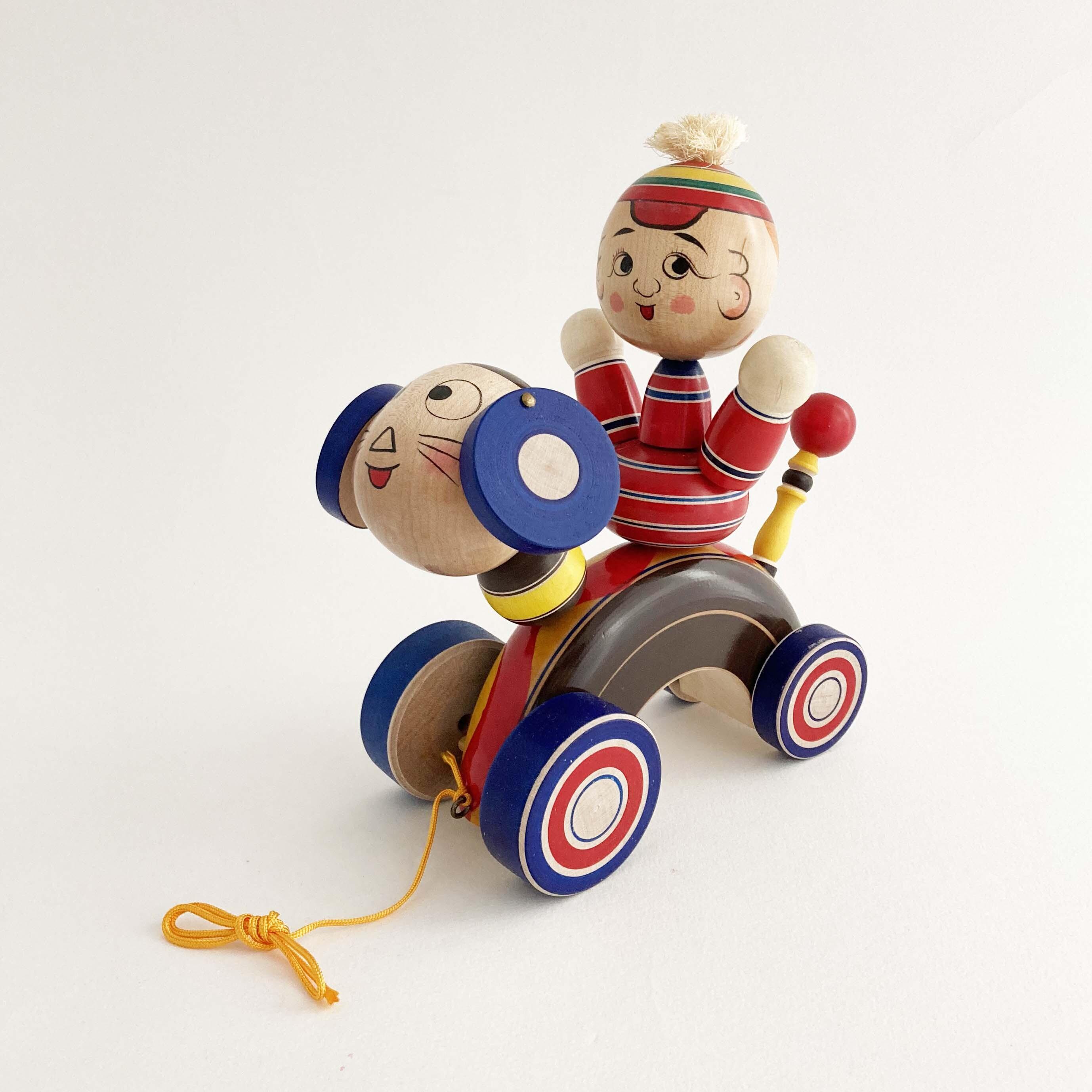 蔦玩具「正ちゃんの犬」