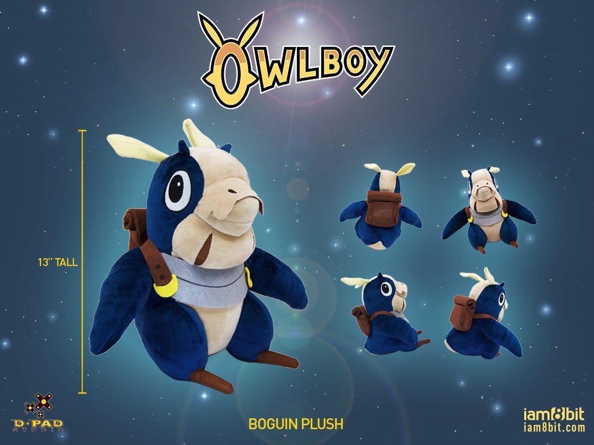 OWLBOY BOGUIN PLUSH  / iam8bit
