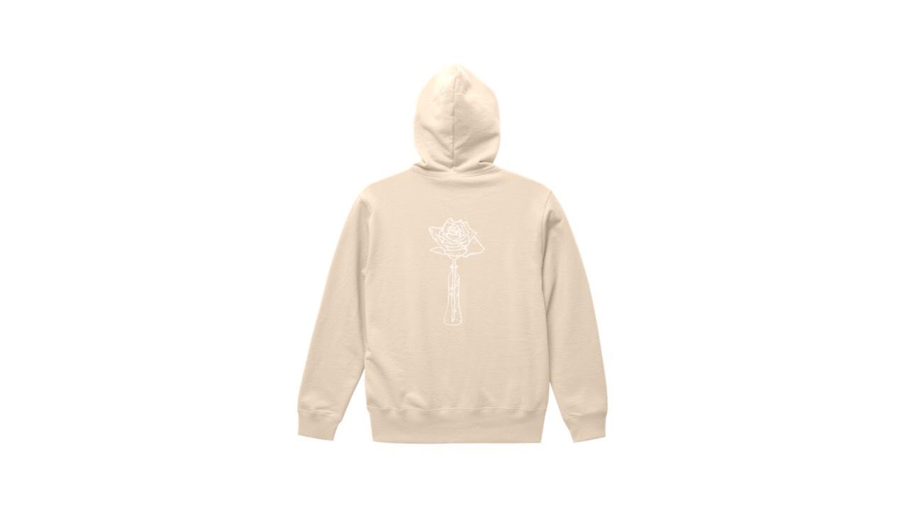 coguchi ROSE hoodie (NATU)