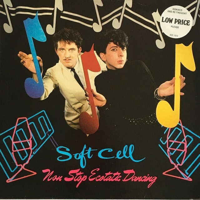 【LP・英盤】Soft Cell / Non Stop Ecstatic Dancing