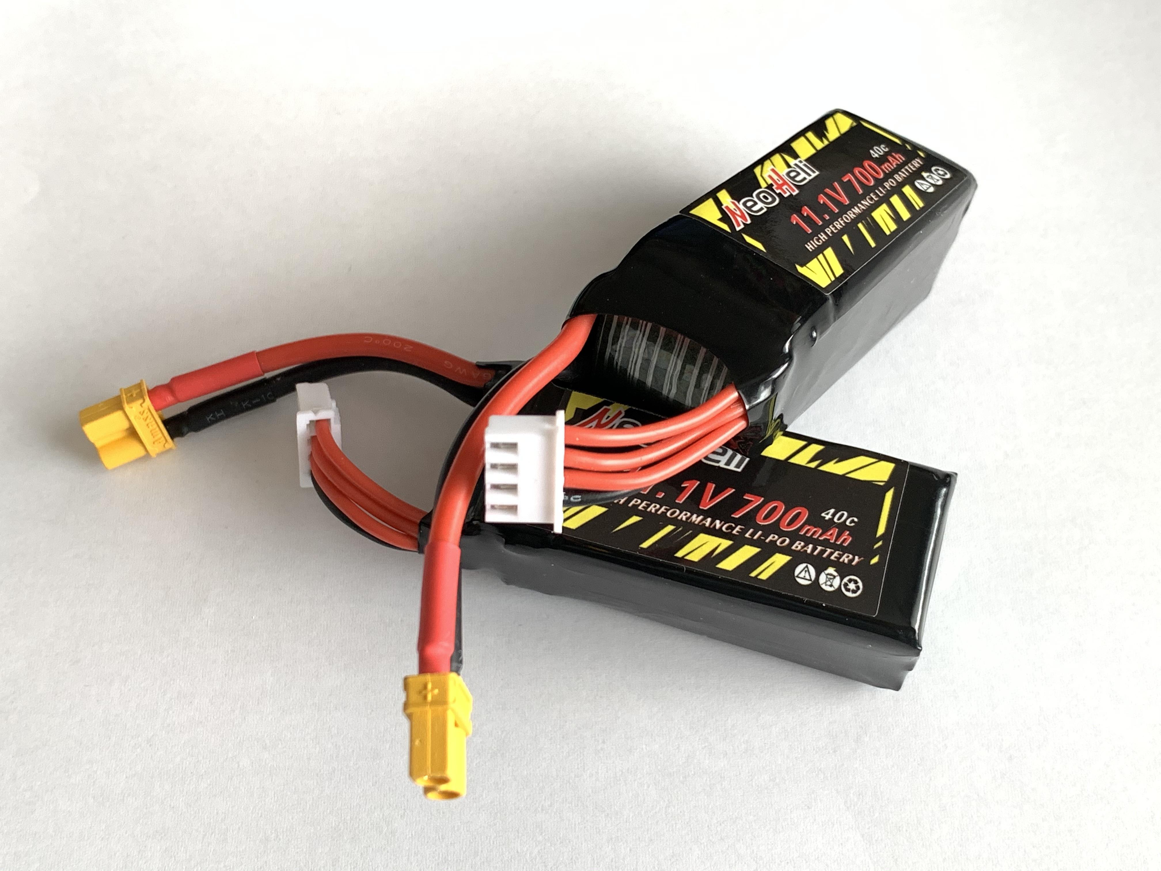 ◆2個セット特価◆M2 リポバッテリー NeoHeliオリジナル 11.1V700mAh40C  2個セット