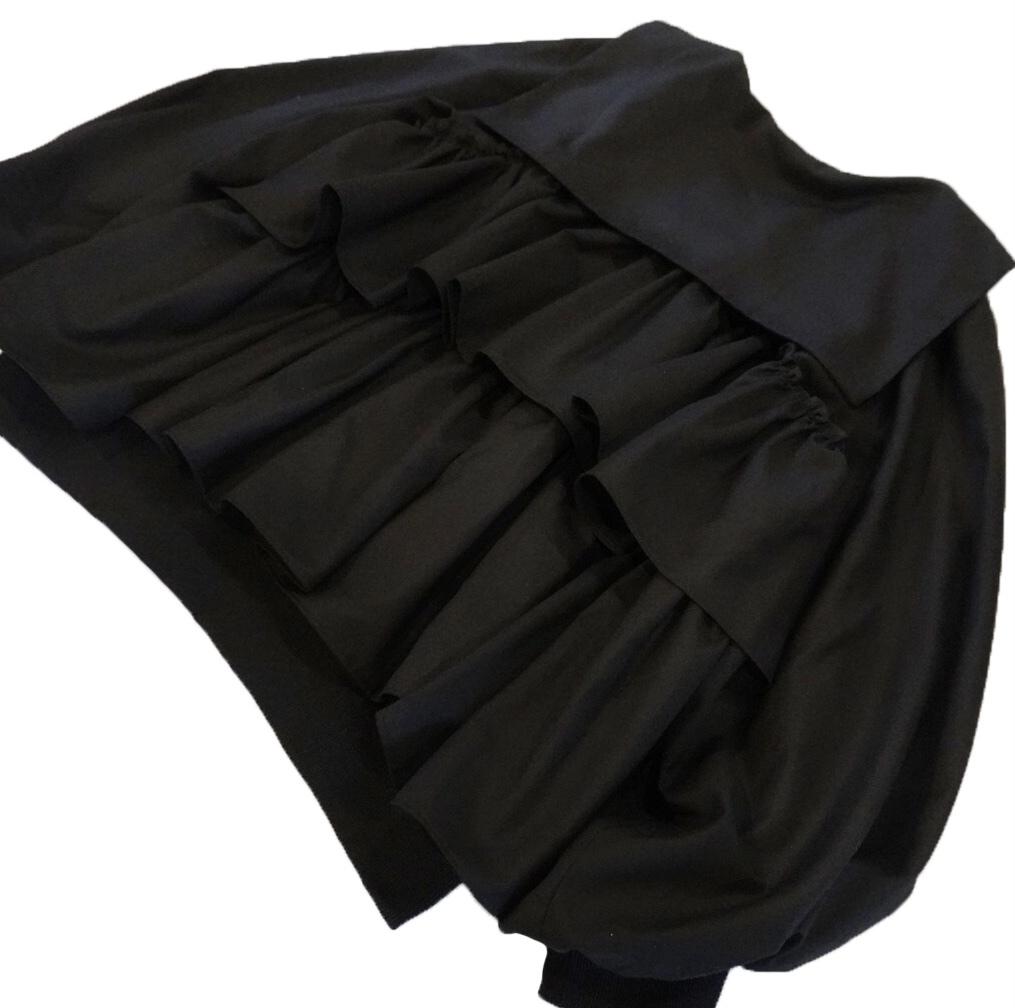 セーラーカラーブルゾン ブラック