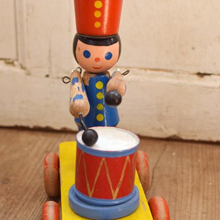 フランス 木製 おもちゃの兵隊