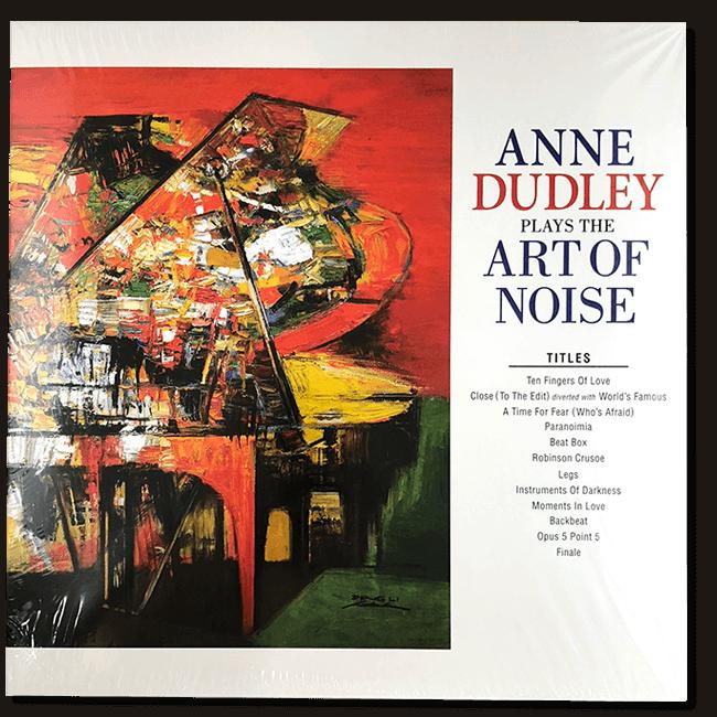 アン・ダドリー『プレイズ・アート・オブ・ノイズ』アナログレコード - 画像1