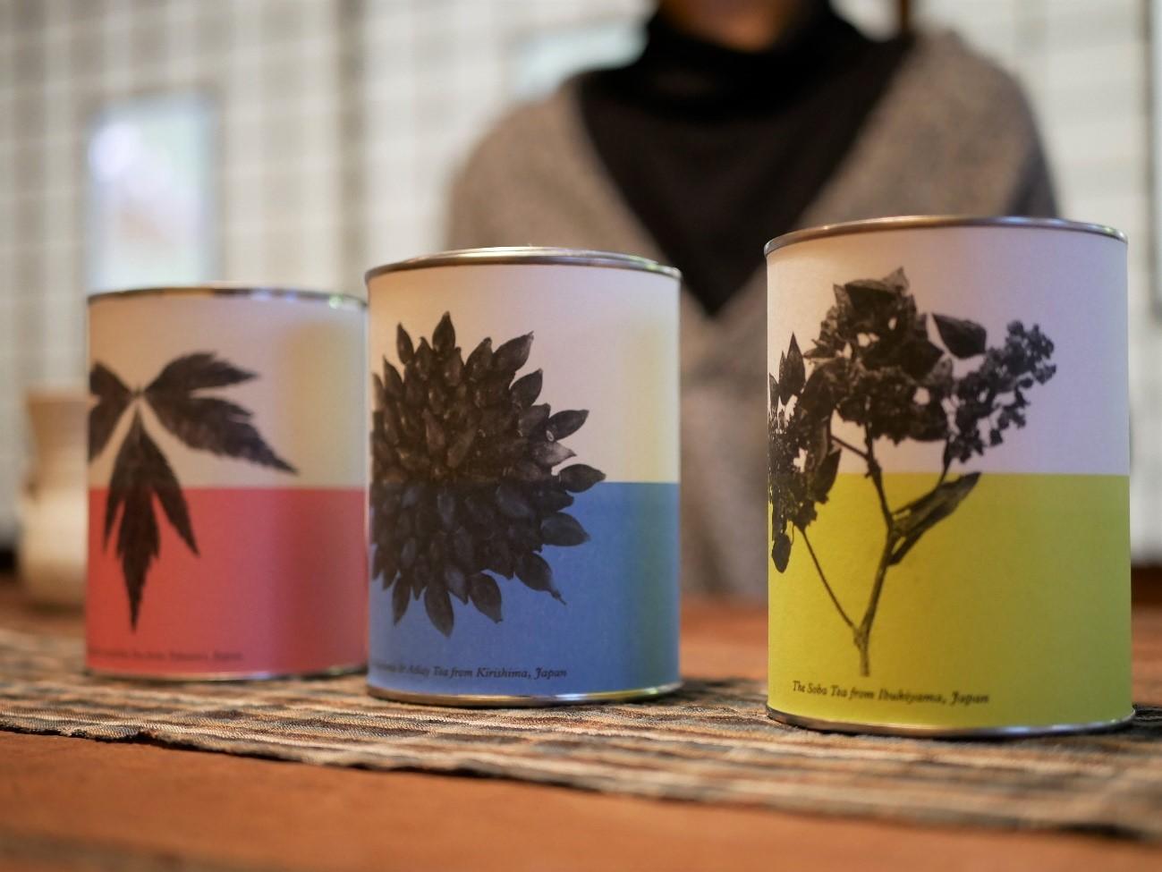 自分の調子を色で知る。|伝統茶 tabel(3缶セット、金沢の職人の箱入り)