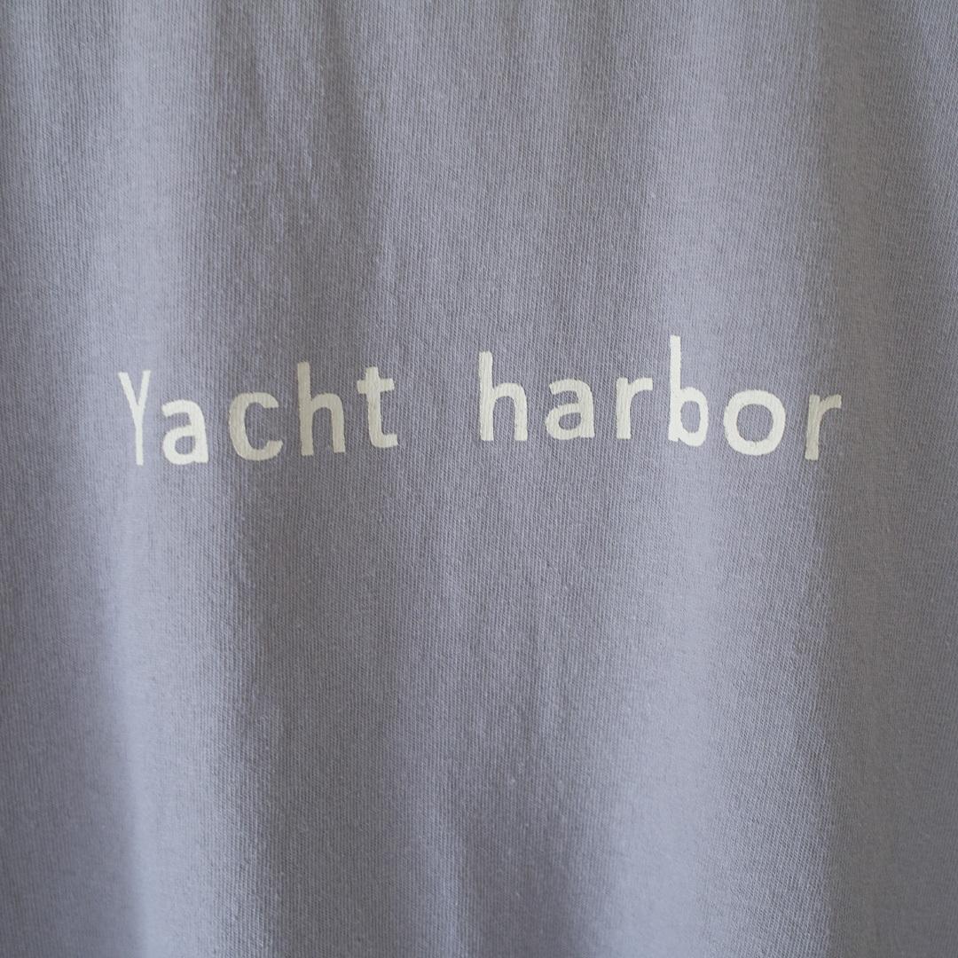 快晴堂 カイセイドウ Boy's 海上がりUNI Tシャツ 世界のハーバー