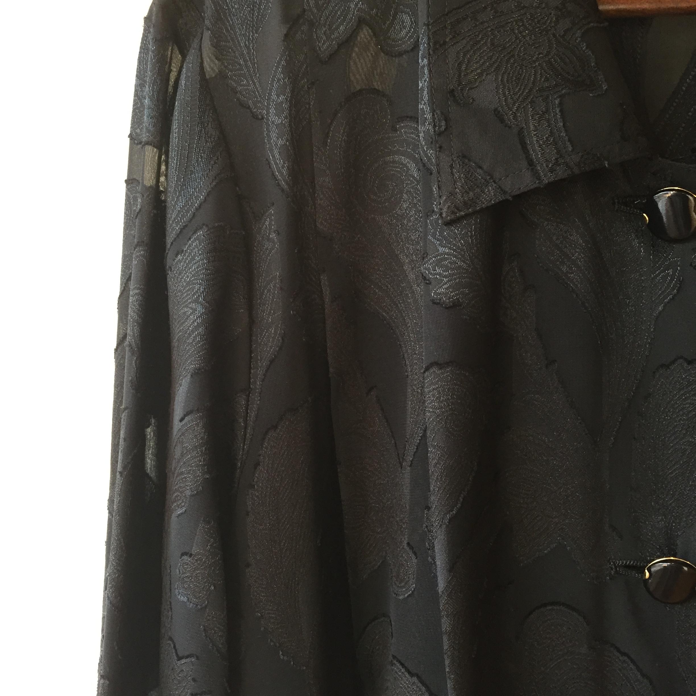 vintage paisley long tops