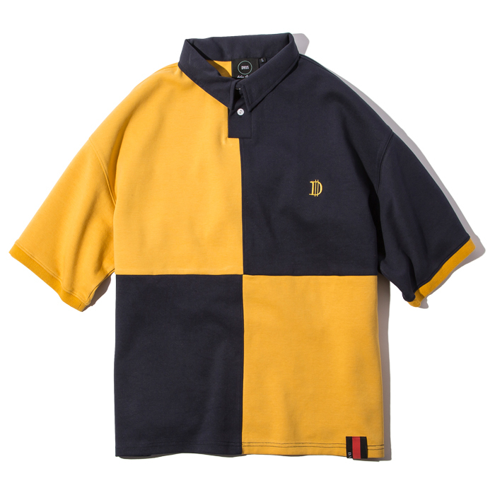 Deviluse(デビルユース)   Rugger Polo(Yellow/Navy)