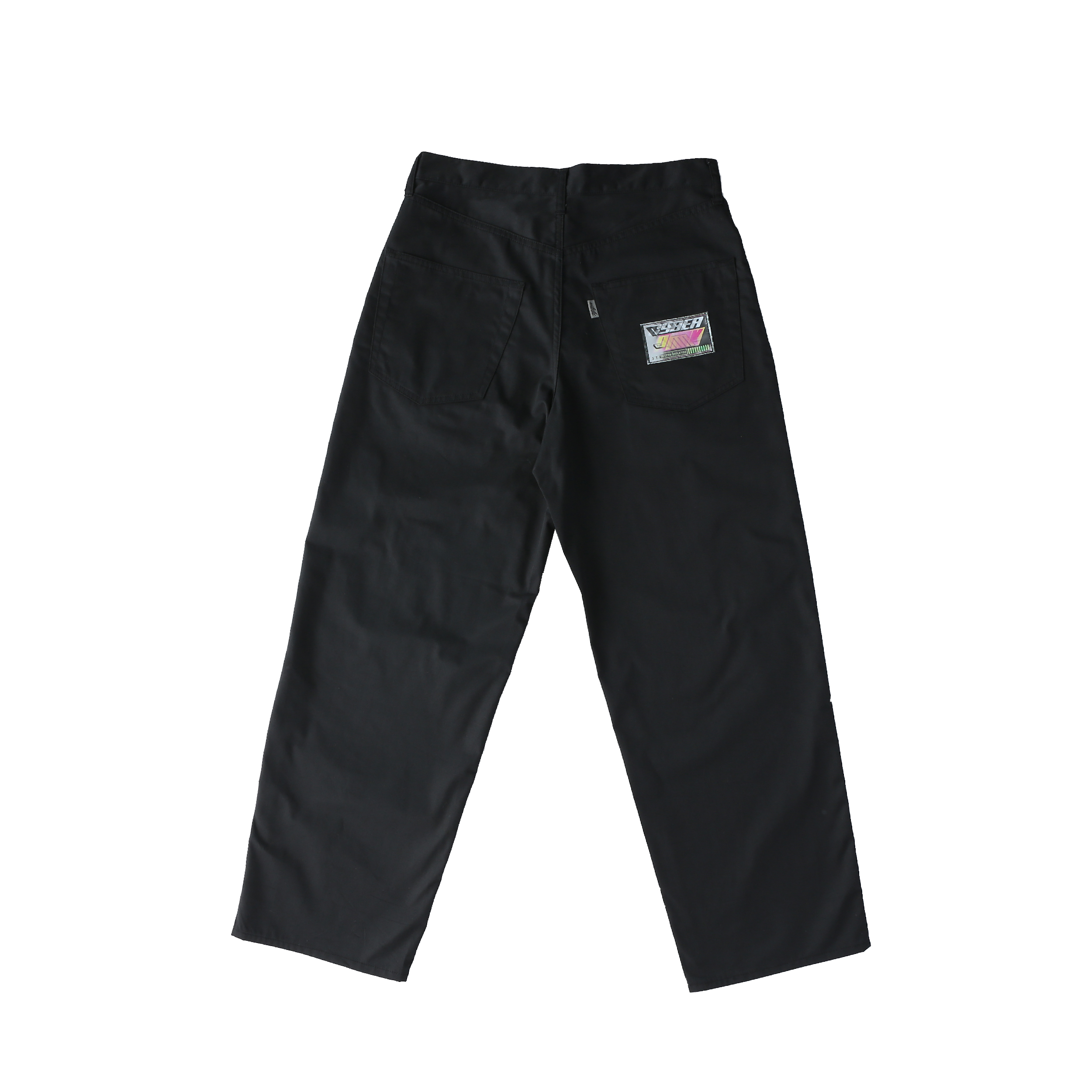 Wappen baggy pants / BLACK - 画像2