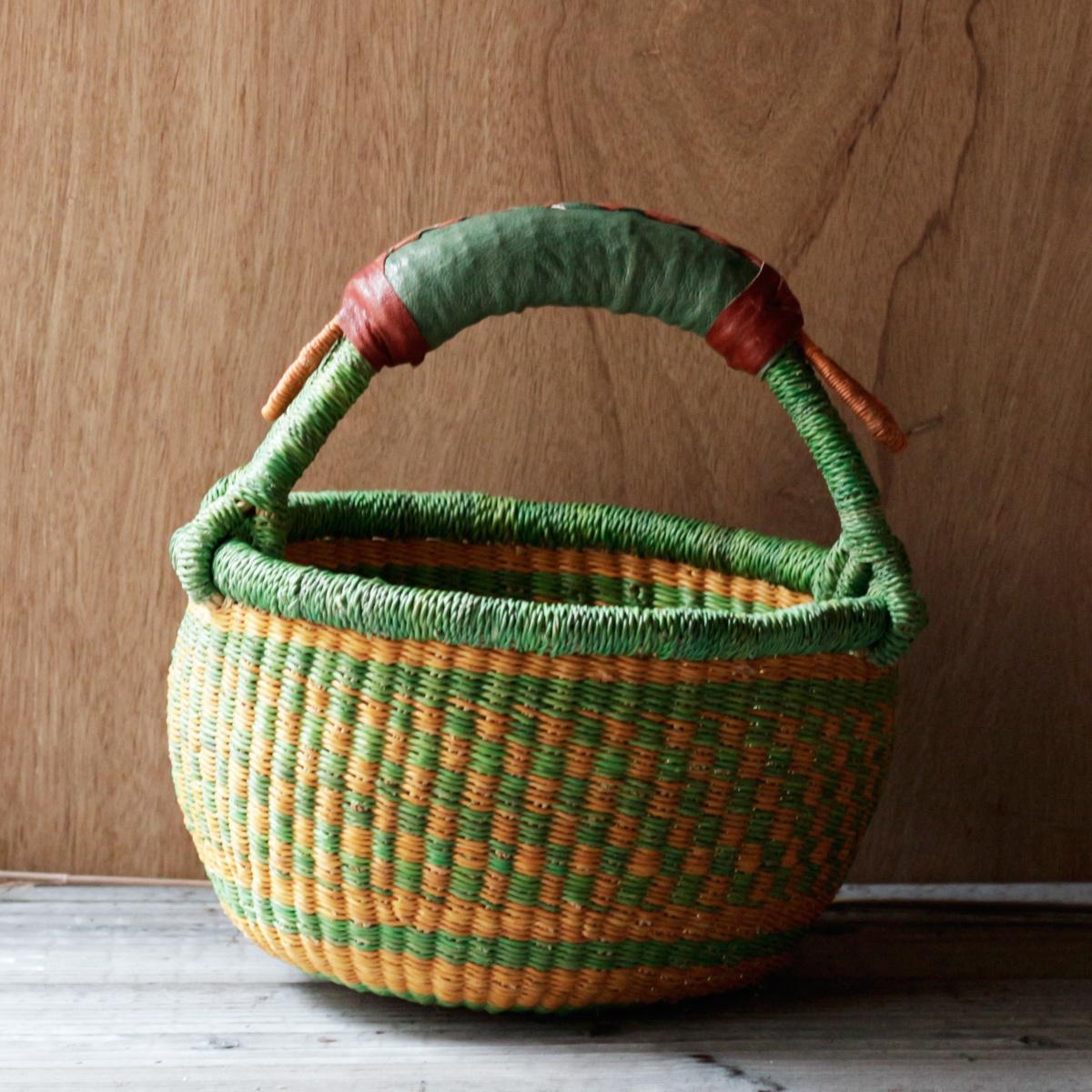 Bolga Basket Round / S O