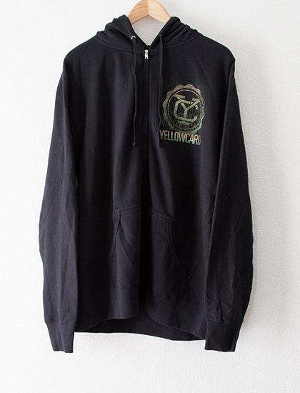 【YELLOWCARD】Gradient Logo Zip (Black)