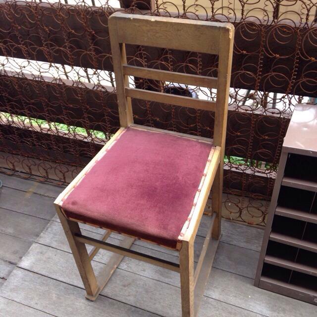 レトロ椅子