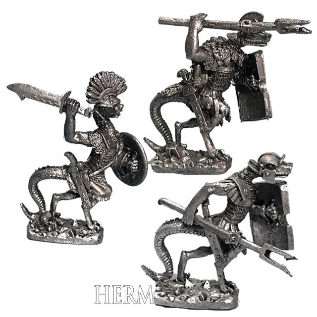 リザードマンの近衛兵(3体) - 画像1