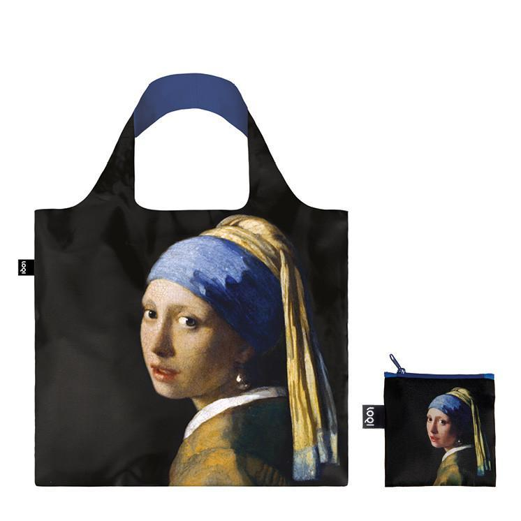 LOQI エコバッグ Vermeer  Girl with a Pearl Earring  Tote Bag