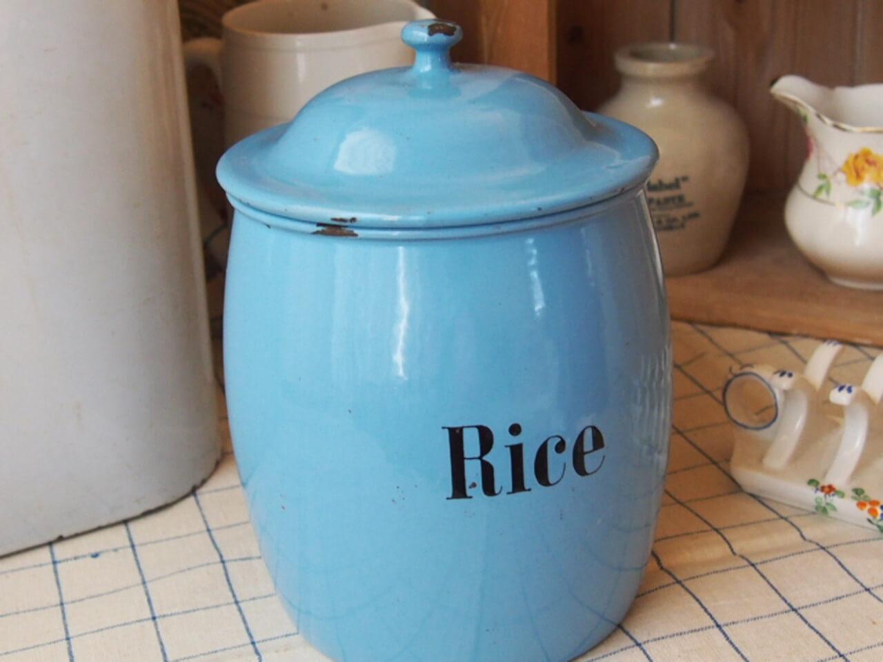 キャニスター(Rice)
