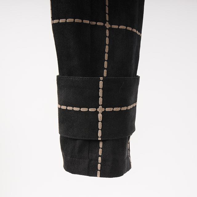 hs18AW-IR04 F/LEATHER PANTS